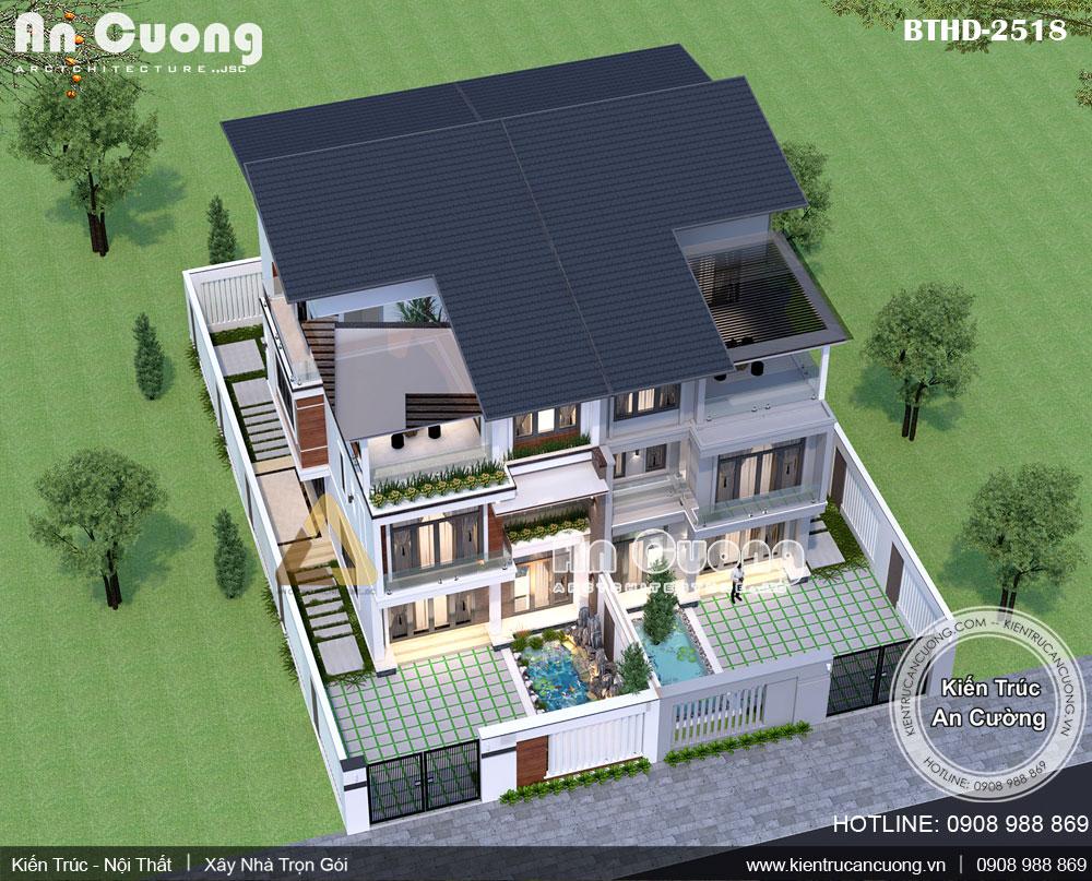 Lên ý tưởng thiết kế biệt thự 3 tầng là bước quan trọng